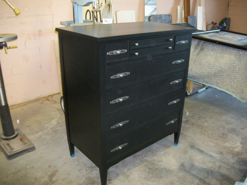 Dresser after refinishing