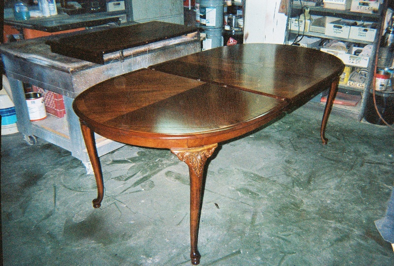Dinning Room Table After